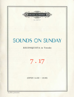 SOUNDS ON SUNDAY vol.4